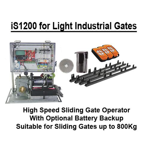 High speed sliding gate