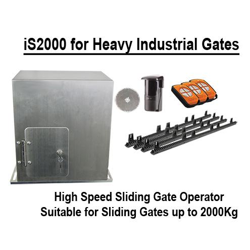 High speed sliding gate motor kit with Inverter